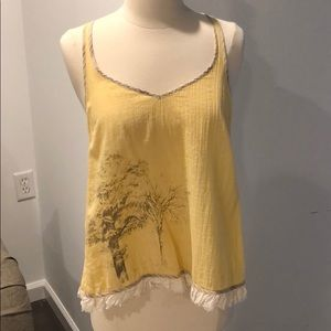💛Open Back Free People Top💛